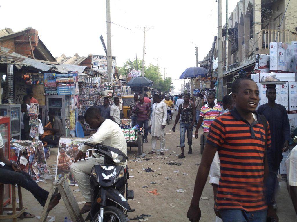 calle en Nigeria