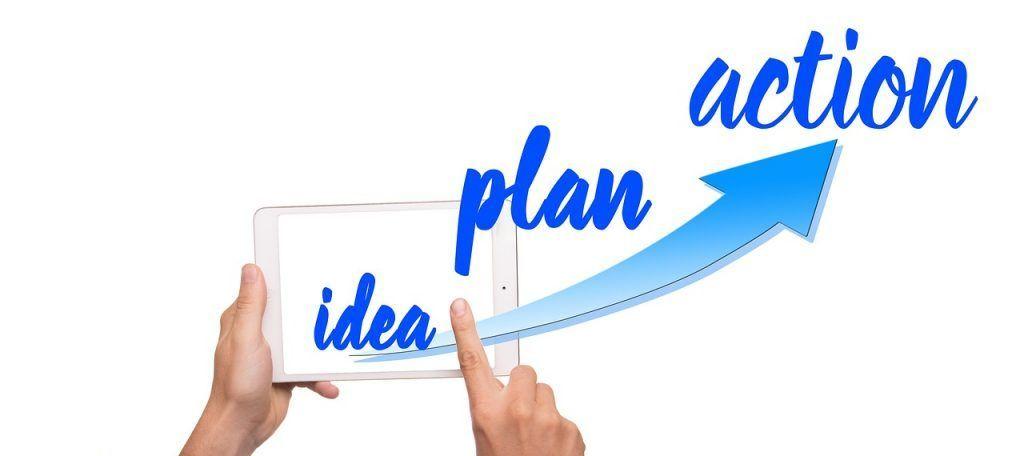 idea plan y acción
