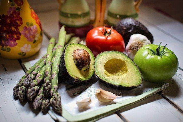 cosumo de frutas y verduras para quemar grasa