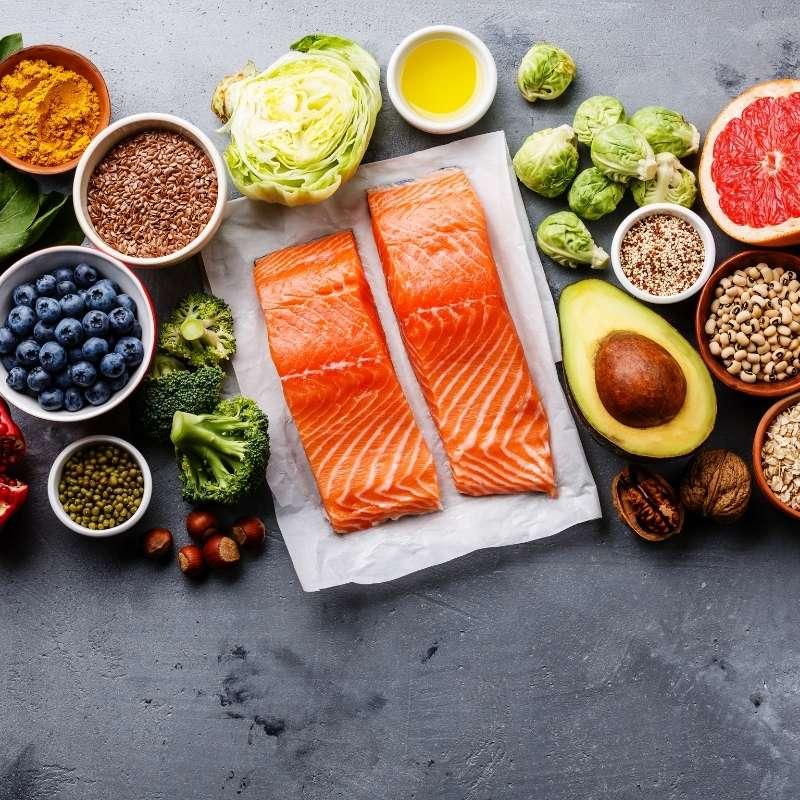 comida de calidad para tener energía para estar motivado y en forma