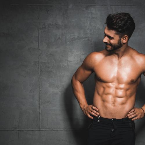 modela a una persona para motivarte a estar en forma